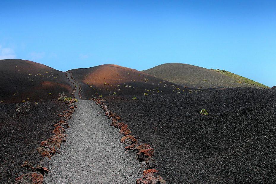 La Palma entdecken Vulkan